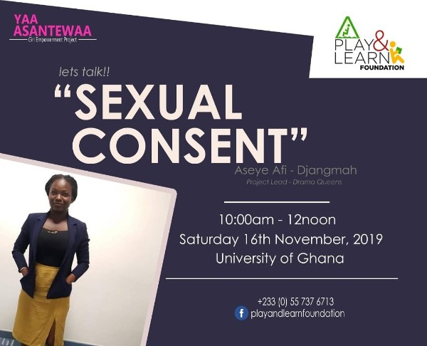 Yaa Asanetwaa talk on Consent